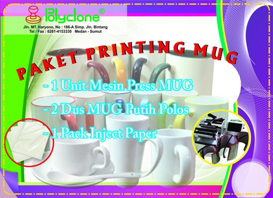 Paket Printing Mug